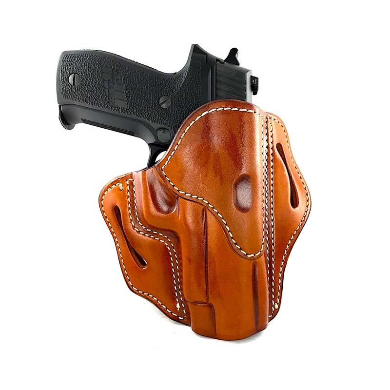 BH2.3 – Open Top Multi-Fit Belt Holster 2.3 Supporting Rails