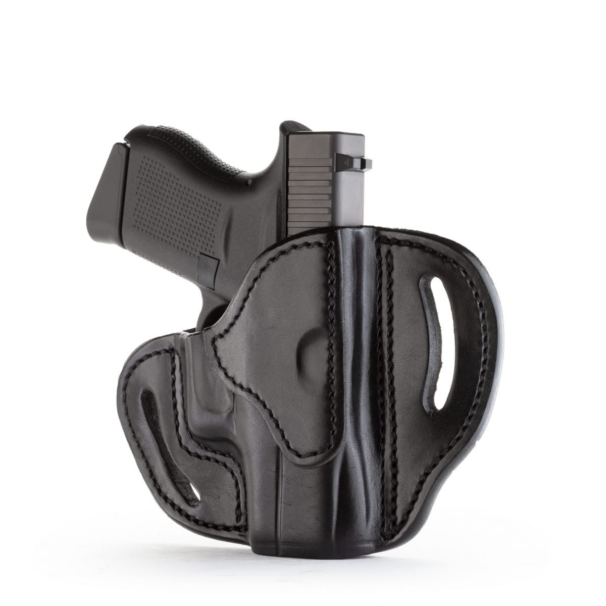 BHC– Open Top Belt Holster for Small and Micro-Frame Firearms