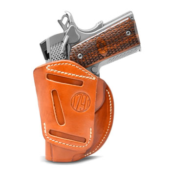 4WH – 4 Way Concealment & Belt Leather Holster