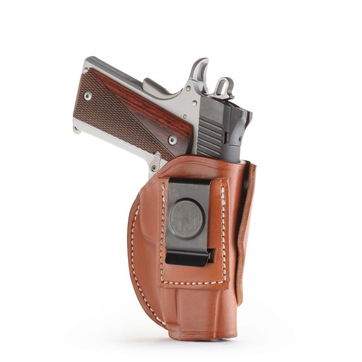 4 Way Concealment & Belt Leather Holster