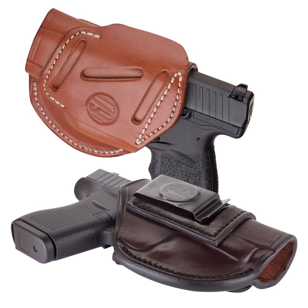 4 Way Concealment & Belt Leather Holster