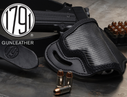 1791 GUNLEATHER DEBUTS FIRST-EVER HOLSTER COMBINING CARBON FIBER WITH PREMIUM GUNLEATHER