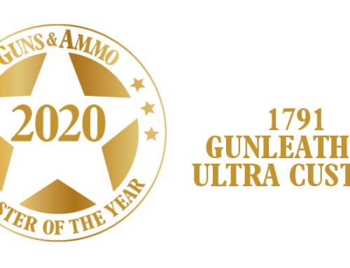 Guns and Ammo Awards 1791 Gunleather® Ultra Custom™ as Holster of the Year